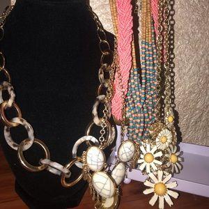 Boho Hippie necklace bundle